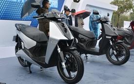 Ra mắt VinFast Theon: Xe máy điện to như Honda SH, có ABS 2 kênh và nhiều công nghệ 'xịn xò' khác
