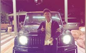 Phan Hoàng khoe quà sinh nhật Mercedes-AMG G 63 giá hơn chục tỷ, danh sách quà của thiếu gia này trước đó còn khủng khiếp hơn