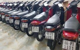 'Choáng váng' với kho xe máy biển đẹp 500 chiếc tại An Giang: Tổng giá trị hàng trăm tỷ đồng, đủ loại Honda Spacy, Su 'Xì-po', Honda Dylan
