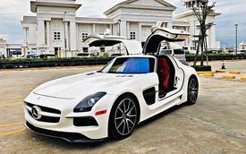 Mercedes-AMG SLS lạ lẫm về Việt Nam ăn Tết với bộ bodykit gây chú ý, dân tình vẫn tò mò về nguồn gốc siêu xe