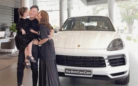 Kiên Hoàng và Heo Mi Nhon sắm Porsche Cayenne Coupe bạc tỷ chơi Tết: Đợi 7 tháng mới có xe, thay chiếc Mercedes-Benz C 300 đã 3 năm tuổi