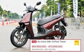 Lộ giá bộ đôi xe máy điện VinFast: Theon cao nhất 81 triệu ngang SH, Feliz 25 triệu rẻ hơn Vision
