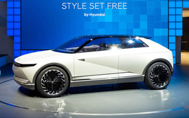 Xem trọn vẹn thiết kế Hyundai Ioniq 5 - Đối thủ đáng gờm của loạt xe VinFast mới
