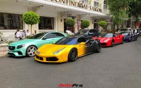 Dàn siêu xe của Evo Team tụ họp cuối tuần, diễu hành qua hai 'thánh địa' siêu xe