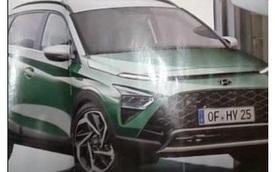 SUV đô thị Hyundai Bayon lộ ảnh không che trước ngày ra mắt: Trông như tiểu Tucson, đấu Kia Sonet sắp về Việt Nam