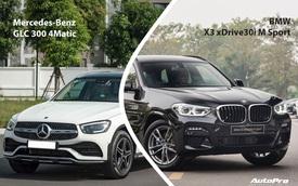 Rẻ hơn nửa tỷ, chọn Mercedes-Benz GLC 300 lắp ráp hay BMW X3 xDrive30i nhập 'full option'?
