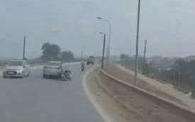 Cua ẩu húc trúng bà bầu, tài xế ô tô khiến tất cả phẫn nộ vì hành động ngay sau đó
