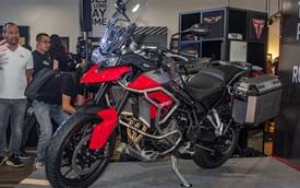Triumph Tiger 850 Sport giá 360 triệu đồng tại Việt Nam - Thách thức Ducati và BMW Motorrad