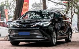 Chi tiết Toyota Sienna 2021 đầu tiên Việt Nam: Ngoài hầm hố như SUV, trong sang xịn chuẩn minivan cho nhà giàu
