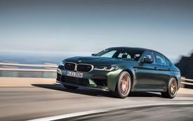 Ra mắt BMW M5 CS - Mẫu BMW đại trà nhanh, mạnh nhất lịch sử, giá quy đổi từ 3,3 tỷ đồng