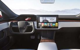 Chiêm ngưỡng kỹ nội thất Tesla Model S vừa ra mắt: Màn 17inch, vô lăng siêu xe, không cần số