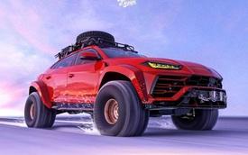 Nếu có một ngày Lamborghini Urus biến thành bản off-road...