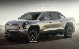 Chevrolet hé lộ bán tải mới: Đầu như Corvette, sức mạnh dự kiến 800 mã lực