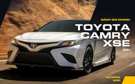 Đánh giá nhanh Toyota Camry XSE sắp về Việt Nam: Khi vô địch doanh số đẹp hơn, thể thao hơn để bỏ xa các đối thủ