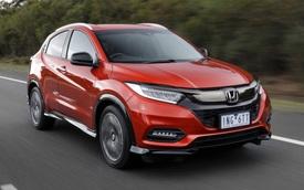 Honda HR-V thế hệ mới hé nội thất: Thêm tính năng chưa từng có trên Hyundai Kona, Kia Seltos