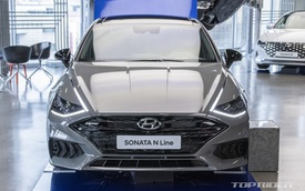 Huyndai Sonata N Line 'full option' chốt giá quy đổi 900 triệu đồng khiến Toyota Camry và Mazda6 phải dè chừng
