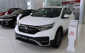 Loạt SUV 7 chỗ giảm giá trăm triệu trước tháng Ngâu: HS giảm sốc dọn kho, CR-V 'chạy' doanh số đua với CX-5