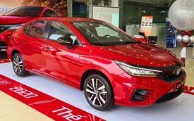 Vừa mở bán, Honda City 2021 đã kèm 'lạc' hơn 20 triệu đồng tại đại lý nếu khách muốn có xe sớm đi Tết