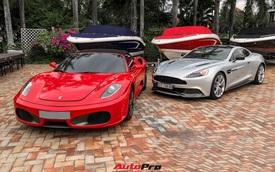 Dàn siêu xe khủng với nhiều 'đồ cổ' của công ty bất động sản xuất hiện tại một sự kiện du thuyền nổi tiếng