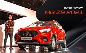 Đánh giá nhanh MG ZS 2021: Nâng cấp nhanh nhất Việt Nam để đổi lại những gì?