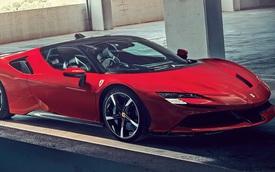 Siêu xe Ferrari hoàn toàn mới được hé lộ dần: Động cơ V6 hybrid đặt giữa, tổng công suất 700 mã lực
