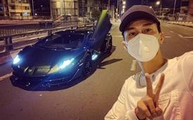 Sài Gòn vừa nới giãn cách, Phan Công Khanh lái Aventador SVJ hội ngộ giới đại gia chơi siêu xe ngay trong đêm