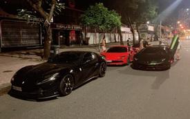 Nới lỏng giãn cách, đại gia Sài Gòn lập tức mang dàn siêu xe hàng chục tỷ đồng đi diễu hành trong đêm