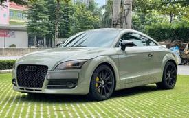Sau 8 năm, hàng hiếm Audi TT sử dụng động cơ V6, dẫn động 4 bánh có giá rẻ ngang Mazda3