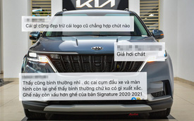 Cộng đồng mạng bình phẩm về Kia Carnival 2022: 'Tất cả đều đẹp, trừ logo'