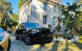 Đón sinh nhật xa nhà, đại gia Sài Gòn tậu luôn Rolls-Royce Cullinan Black Badge tại Đức để trải nghiệm dù đã sở hữu bộ đôi Lamborghini