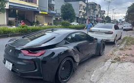 Dân chơi Thái Nguyên tậu BMW i8 độ thân rộng siêu độc lạ tại Việt Nam
