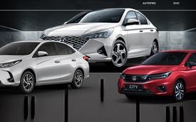 Hyundai Accent lần đầu bán gấp đôi Toyota Vios, chiếm gần nửa thị phần phân khúc sedan hạng B