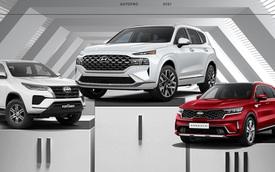 Hyundai Santa Fe bán bằng Fortuner, Sorento, CX-8, Everest và các SUV 7 chỗ phổ thông cộng lại