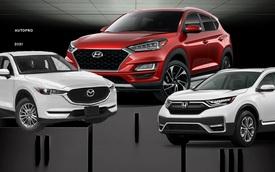 Giảm giá gần 100 triệu đồng, Hyundai Tucson lần đầu bán chạy nhất phân khúc, đè bẹp Mazda CX-5 và Honda CR-V