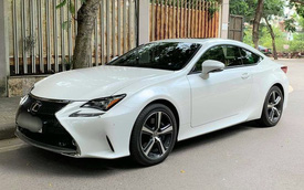 Chủ xe bán Lexus RC 200t sau 8.000km, công khai chịu lỗ gần 1,3 tỷ đồng