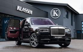 Rolls-Royce Cullinan Klassen: Siêu SUV bọc thép cho đại gia ưa an toàn