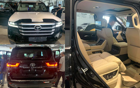 Chưa kịp bóc nilon, chủ xe Toyota Land Cruiser 2022 đầu tiên Việt Nam lột bỏ nội thất độ theo phong cách Maybach