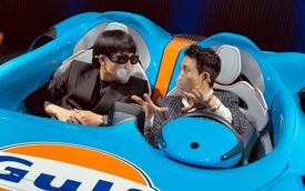 Từ lời rap 'Mercedes màu xanh', rapper Wowy được 'cưỡi' McLaren Elva màu xanh triệu đô cùng Minh Nhựa