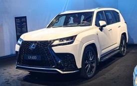 Ảnh thực tế đầu tiên của Lexus LX 600 2022: Đẹp và hầm hố hơn quảng cáo, sẽ về nước phục vụ đại gia Việt