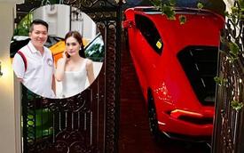Vợ chồng ca sĩ Đoàn Di Băng tậu Lamborghini Huracan thế chỗ McLaren 720S, khoe biển số 'tam 7' mới bấm được