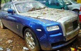 Rolls-Royce siêu sang bị bỏ rơi tại Ấn Độ