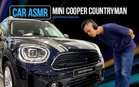 CAR ASMR: MINI Countryman - Xe nhỏ dành cho giới nhà giàu liệu âm thanh có... hay?