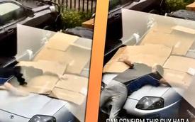 Lấy thân che mưa đá cho xe, chủ nhân Toyota Supra làm cộng đồng mạng tranh cãi kịch liệt
