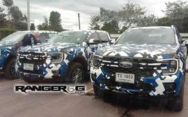 Ford Ranger đời mới tiếp tục lộ mặt, hé lộ một số khác biệt của nhiều phiên bản