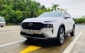 Bốc được biển số ngũ quý 222.22, Hyundai Santa Fe 2021 được CĐM đồn đoán sẽ có giá bán lại lên tới 2 tỷ đồng
