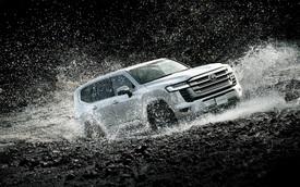 Loạt hình ảnh mới sẽ khiến đại gia Việt thêm sốt ruột khi chưa mua được Toyota Land Cruiser 2021