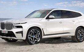 BMW X8 lại khiến dân tình 'chao đảo' khi lộ diện trên đường: To như Rolls-Royce Cullinan, mặt trước có điểm giống Hyundai Santa Fe