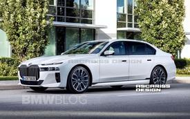 BMW 7-Series 2023 lộ diện trên đường thử, cách bố trí đèn pha hao hao VinFast Lux A2.0