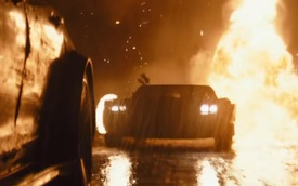 Batmobile lột xác hoàn toàn trong bom tấn mới của Hollywood: Dáng như Ford Mustang nhưng gầm cao kiểu SUV