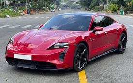 Khi đại gia thế giới còn chờ nhận xe, đã có đại gia Việt bán lại Porsche Taycan đầu tiên giá hơn 9 tỷ đồng